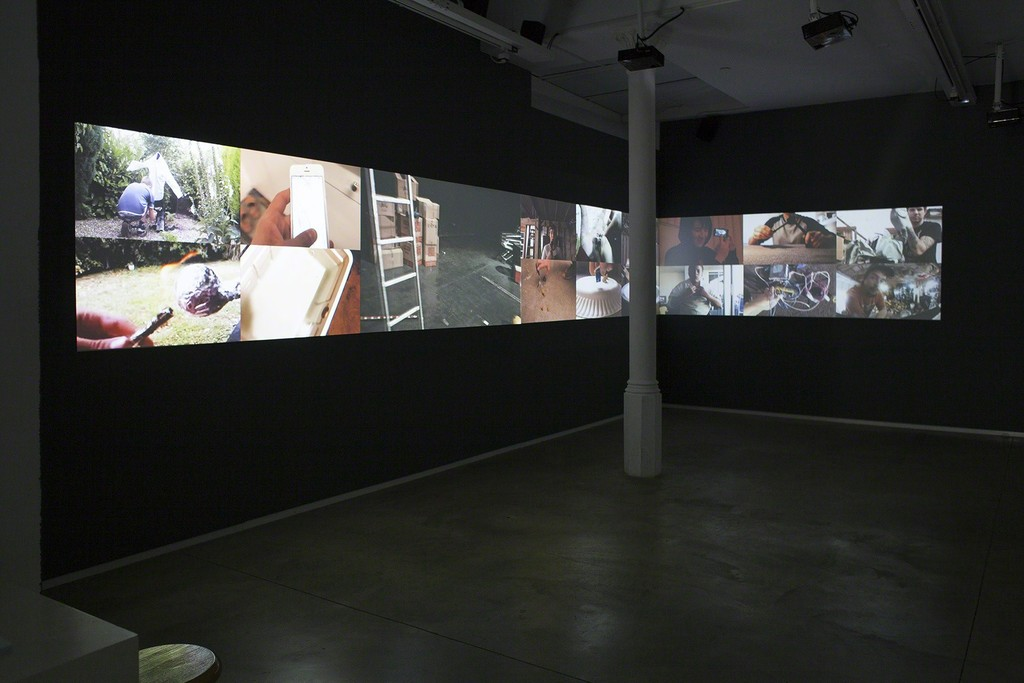 Mabel Palacín solo show at àngels barcelona, 2017