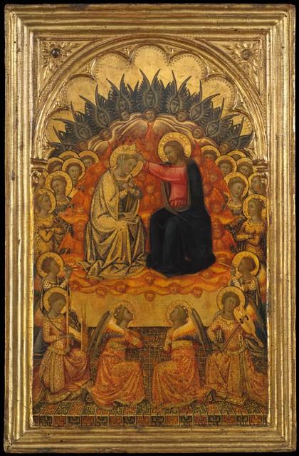 Niccolò di Buonaccorso, 'The Coronation of the Virgin', ca. 1380, The Metropolitan Museum of Art