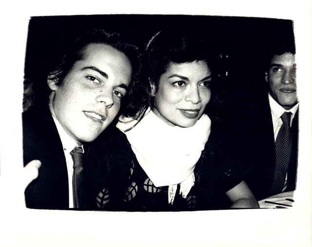 Andy Warhol, 'Andy Warhol, Photograph of John Stockwell and Bianca Jagger circa 1980', ca. 1980, Hedges Projects