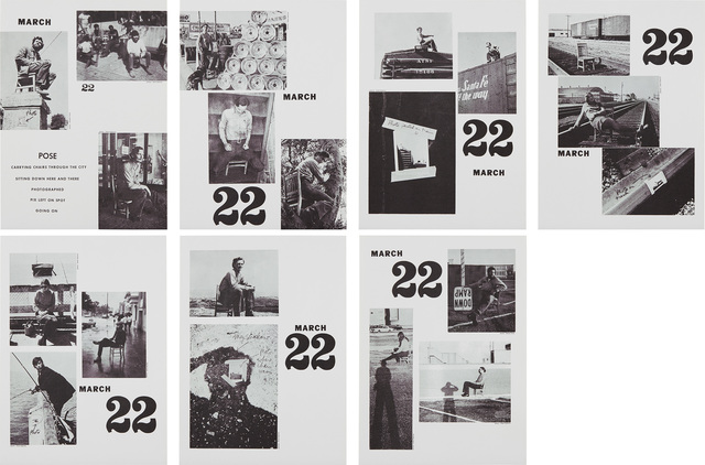 Allan Kaprow, 'Pose, March 22, 1969 Continued 1970, from Artists & Photographs 1969–70', 1970, Phillips