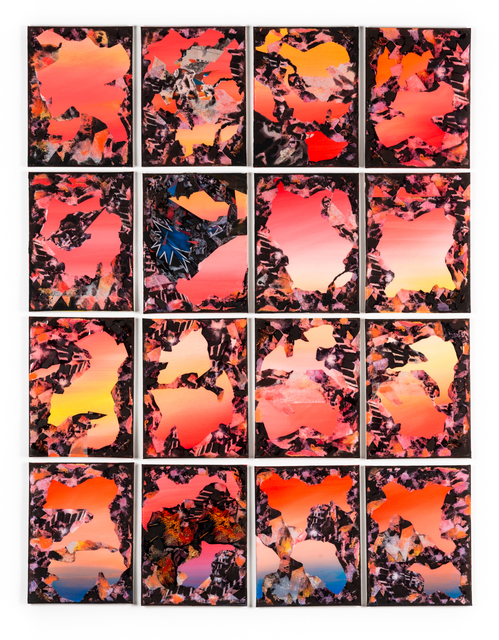 Rushern Baker IV, 'Untitled (Landscapes 1-16)', 2019, Hemphill Fine Arts