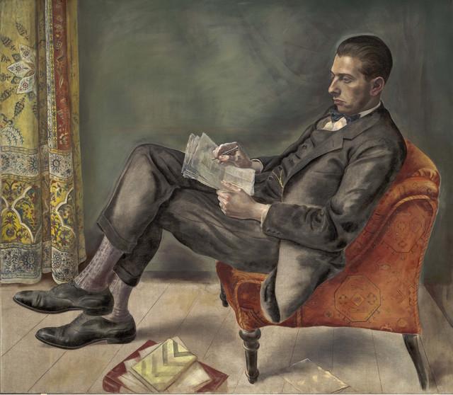 , 'Portrait of Dr. Felix J. Weil (Bildnis Dr. Felix J. Weil) ,' 1926, Los Angeles County Museum of Art