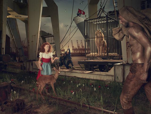 Erwin Olaf, 'Der König der Löwen trifft Brüderchen und Schwestern', 2014, Hamiltons Gallery