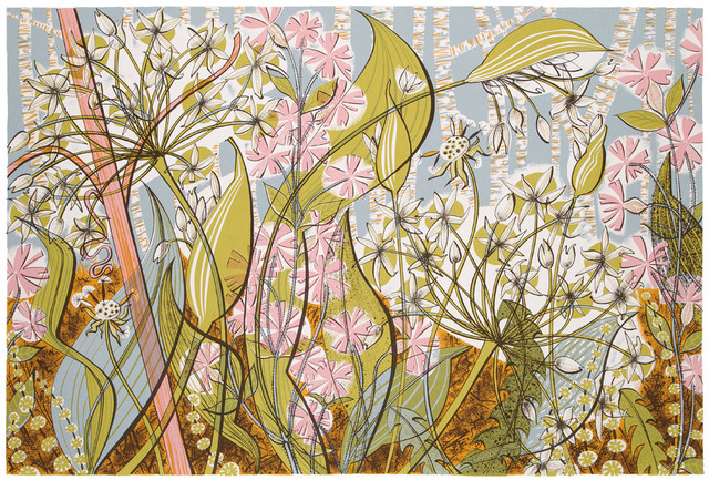 Angie Lewin, 'Ramsoms and Campion', 2014, Jealous Gallery