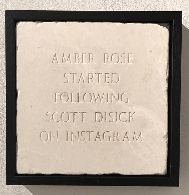 , 'Amber Rose Started Following Scott Disick On Instagram,' 2018, The Untitled Space
