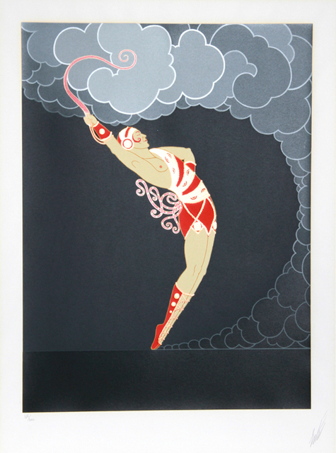 Erté (Romain de Tirtoff), 'The Dancer from the At the Theatre Suite', 1983, RoGallery