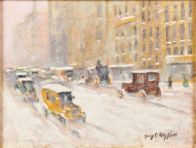 Guy Carleton Wiggins, 'New York Winter (Fifth Ave. View)', Rago/Wright