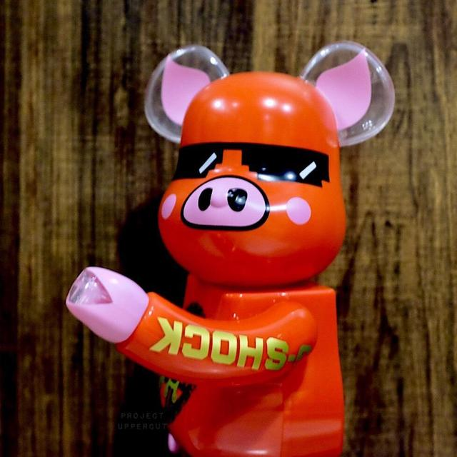 "BE@RBRICK, 'BE@RBRICK X G SHOCK X ACU ""YEAR OF THE PIG"" 400% FIGURINE', 2019, Arts Limited"