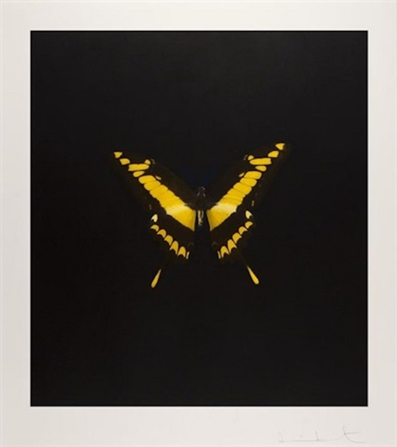 , 'Yellow Butterfly (The Souls On Jacob's Ladder Take Their Flight),' 2007, Maddox Gallery