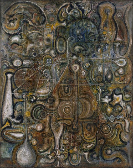 Richard Pousette-Dart, 'The Eye of the Pyramid', 1946, Richard Pousette-Dart Estate