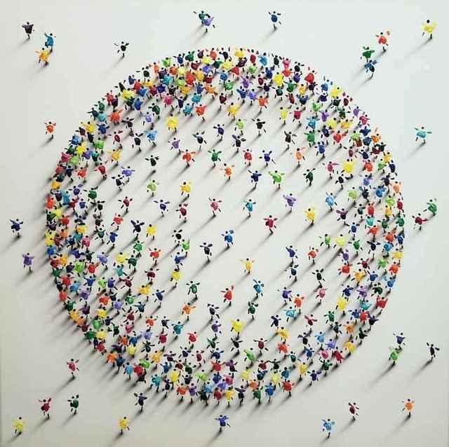 , 'Family Circle 40 Multi,' 2019, Whistler Contemporary