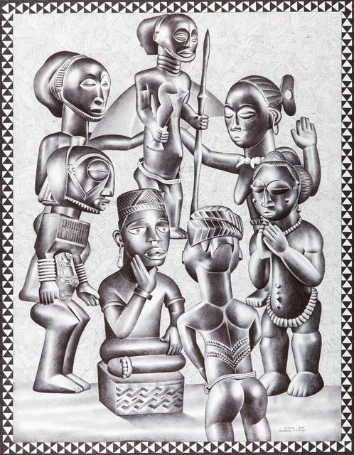 Tsham, 'Le Chef', 2015, Africa Bomoko