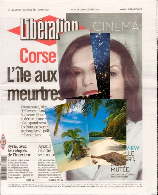 , 'Online Newspapers, edition française,' 2013, Western Front