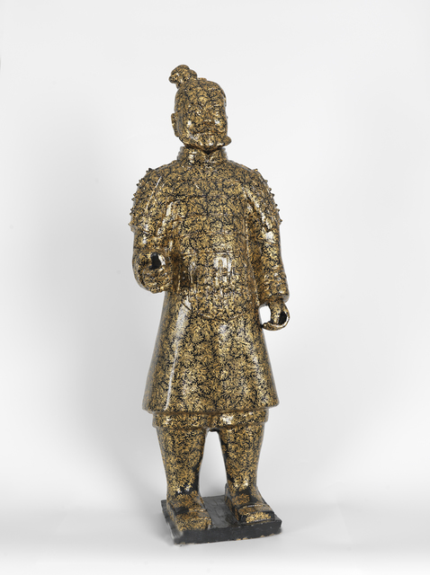 , 'Terracotta Warrior- Gold & Black,' ca. 2006, Tanya Baxter Contemporary