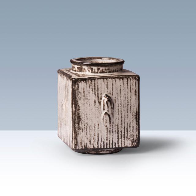 Svend Hammershøi, 'Square earthenware vase.', 1926-1939, FarverCramon