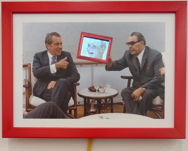 , 'Eis Zeit (Nixon/Breschnew),' 2014, Galerie von Braunbehrens
