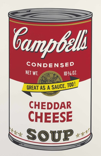Andy Warhol, 'Cheddar Cheese (F&S II.63) Campbell's Soup II', 1969, Reuben Colley Fine Art