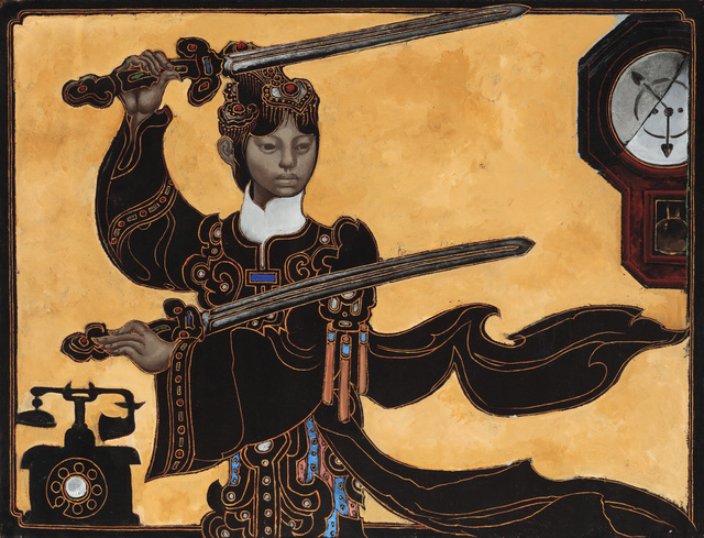 , 'Two Swords,' No Date, P.P.O.W