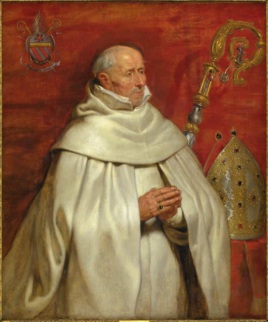 , 'Matthaeus Yrsselius (1541-1629), Abbot of Sint-Michiel's Abbey in Antwerp,' ca. 1624 , Statens Museum for Kunst