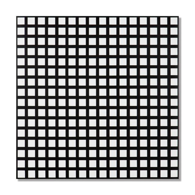 , 'Trames de 256 carrés réguliers,' 1972, The Mayor Gallery