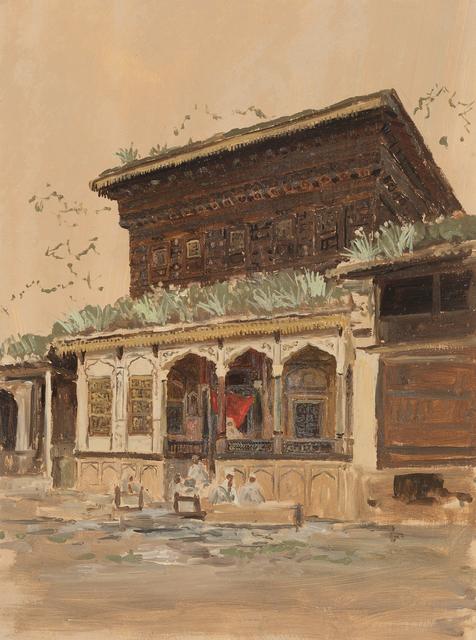 , 'Balcony, India,' ca. 1881, Debra Force Fine Art