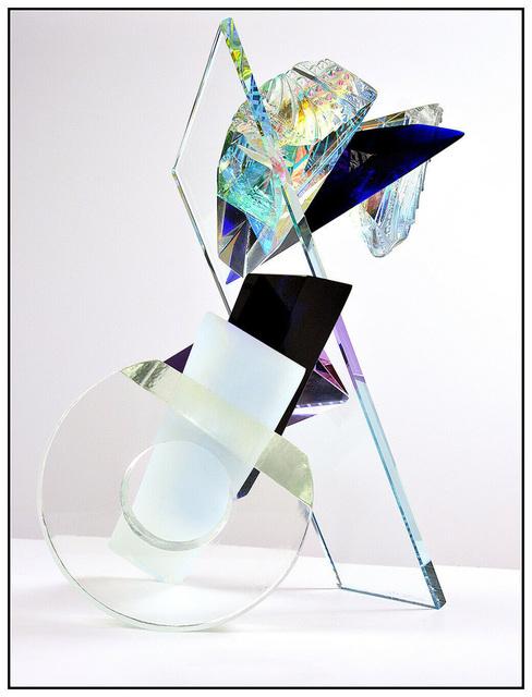 Grant W. Miller, 'Balanced', 1991, Sculpture, Full Round Crystal Glass Sculpture, Original Art Broker