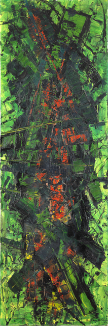 , 'Configuration in Green and Red,' 1959, Whitford Fine Art