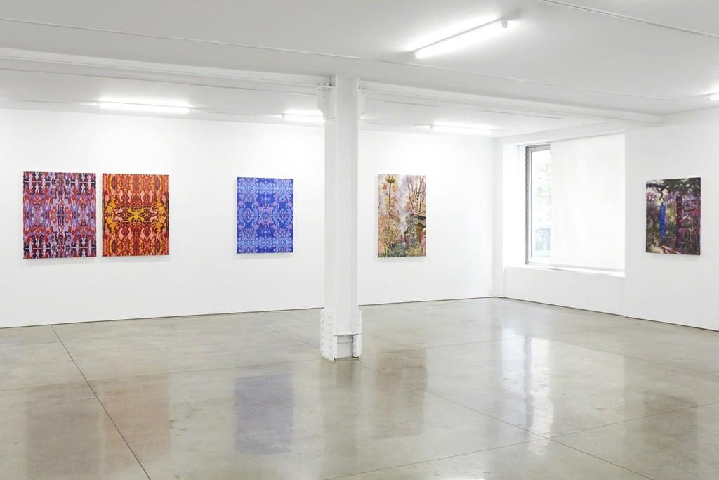 Bradley Castellanos, installation view of Sunshine State, 2017. (c) Bradley Castellanos; Courtesy of the artist and RYAN LEE, New York.