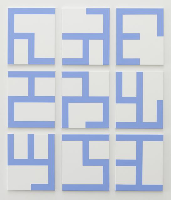 , 'Eviter le pire (white),' 2014, Tatjana Pieters