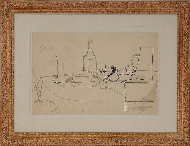 , 'Tabletop Still Life,' ca. 1950, Nikola Rukaj Gallery