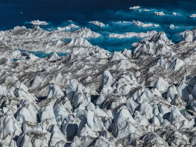 , 'Seascape, Greenland Ice Sheet,' 2016, Marlborough Gallery