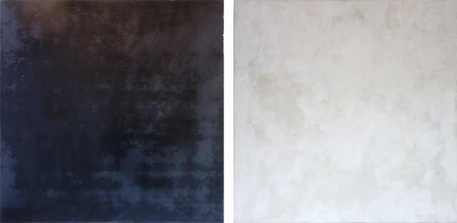 , 'Untitled Diptych (Black/White),' 1991, George Lawson Gallery