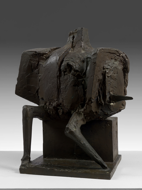 , 'Seated Armed Figure,' 1962, Osborne Samuel