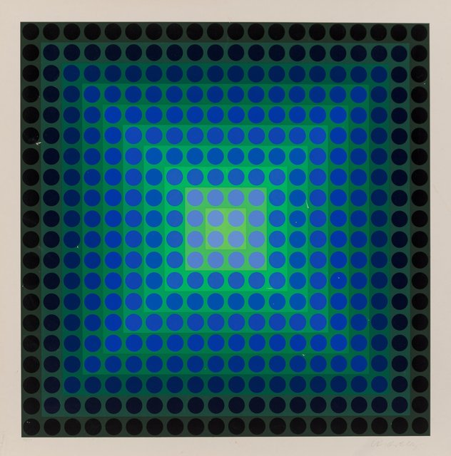 Victor Vasarely, 'Permutations', 1968, Heritage Auctions
