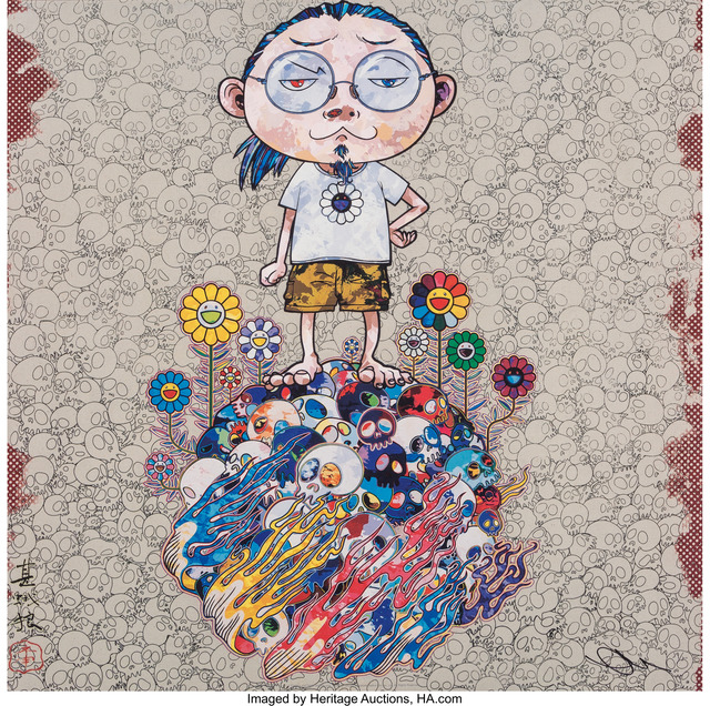 Takashi Murakami, 'Flowers and Death and Me and ...', 2013, Heritage Auctions