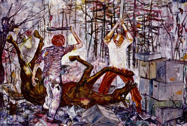 , 'Das Recht,' 2001, Belvedere 21