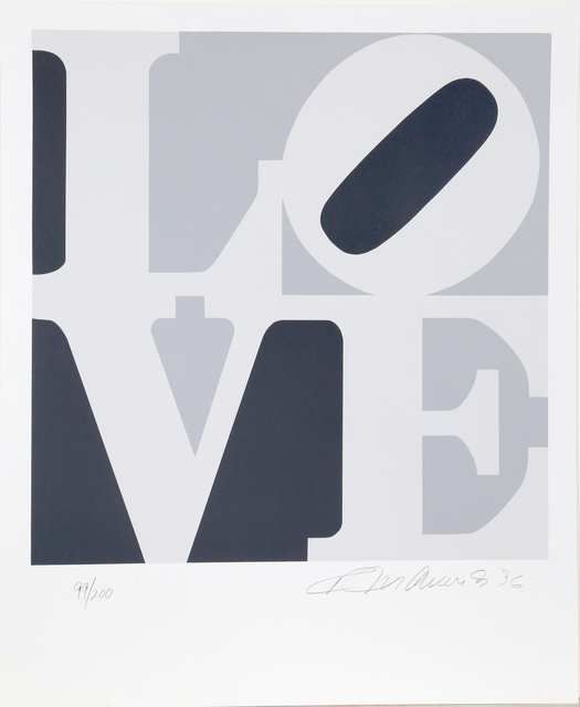 Robert Indiana, '4 from The Book of Love', 1996, RoGallery