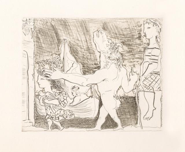 Pablo Picasso, 'Minotaure aveugle guidé dans la Nuit par une Petite Fille au Pigeon (S.V. 96) ', 1934, John Szoke