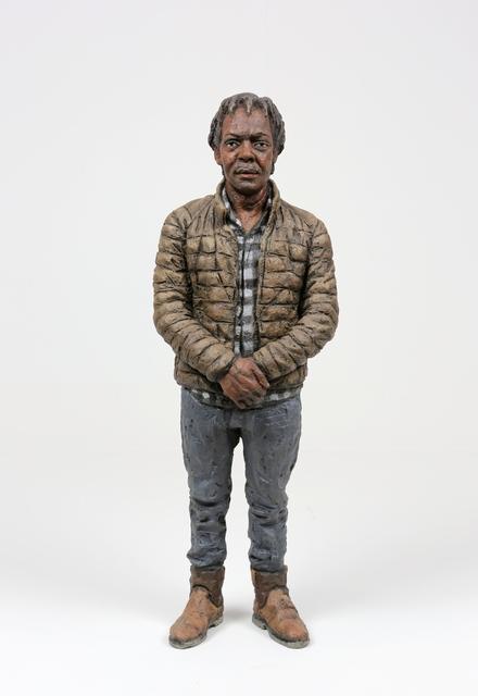 , 'Man in puffer jacket,' 2014, LKFF
