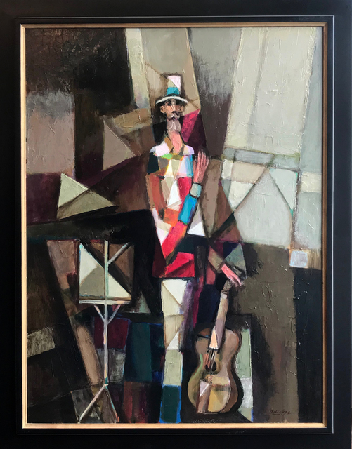 David Adickes, 'Cubism Man with Guitar ', 2017, Thornwood Gallery