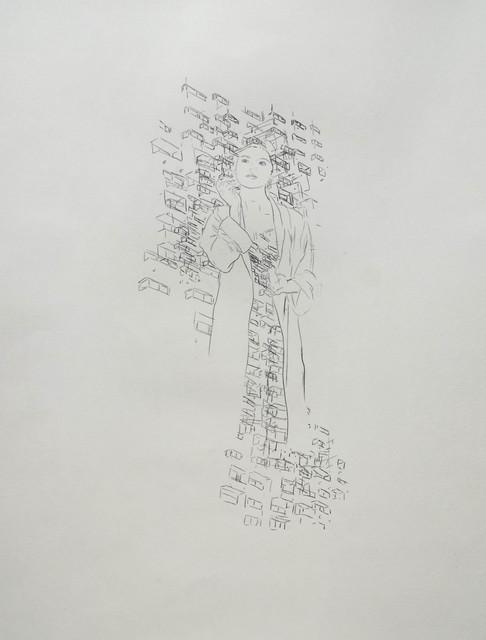 , 'Des villes et des femmes 2,' 2018, Galerie Heike Strelow