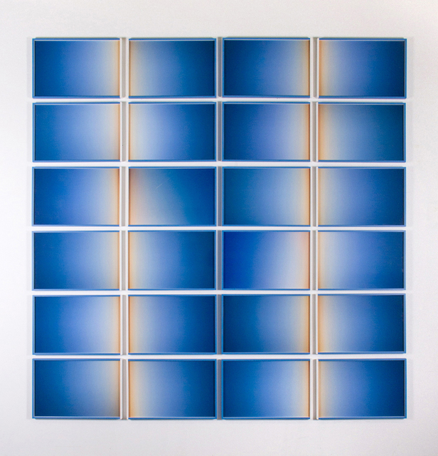, 'Horizon two lines,' 2015, Inman Gallery