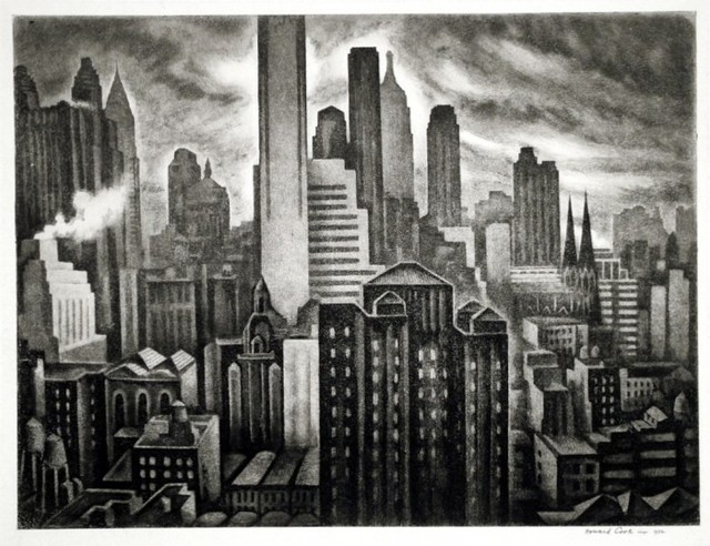 , 'Soaring New York,' 1931-1932, Harris Schrank Fine Prints