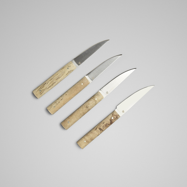 Daghorn, 'knives, set of four', Wright