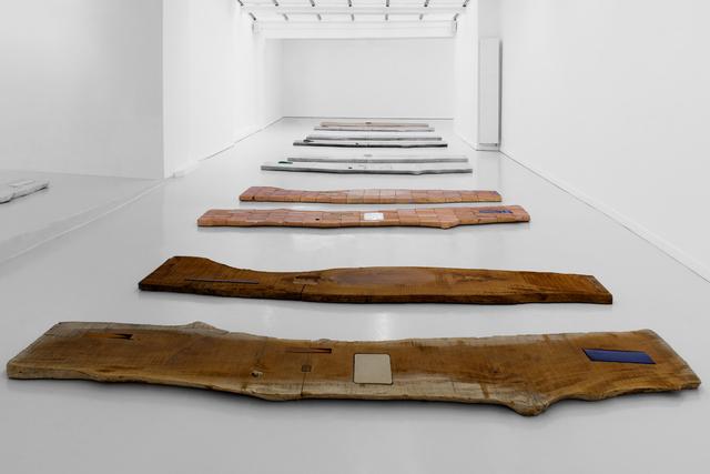 , 'Sticks & Stones I, II, III,' 2013-2015, GRIMM