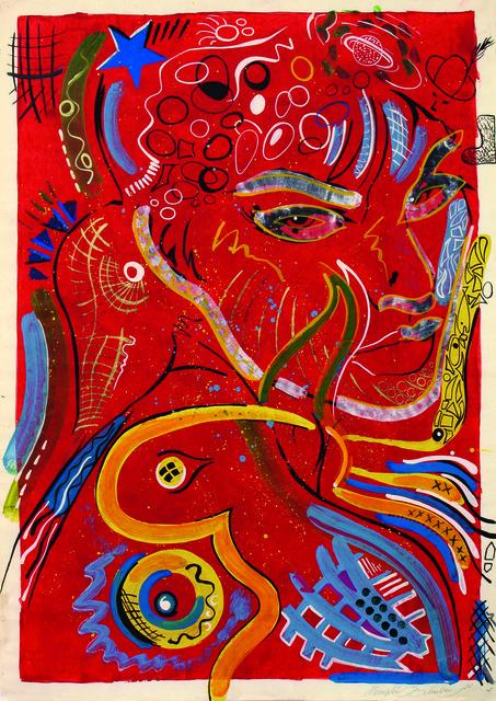, 'Frau in Rot (Lady in Red),' 1990, Setareh Gallery
