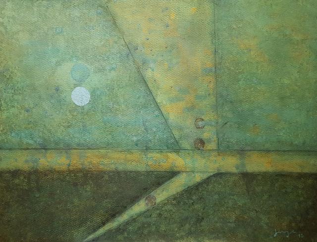 Jorge González Velázquez, 'Luz', 2015, Drawing, Collage or other Work on Paper, Acrylic on paper, Aldama Fine Art