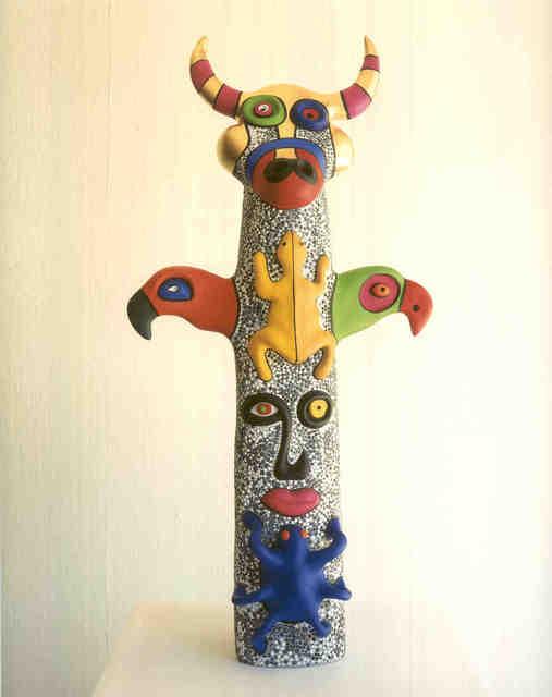 , 'Totem: Bull Head,' 2000, Tasende Gallery