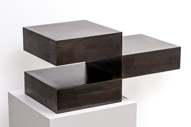 , 'CUBE IN THREE PIECES,' 2011, Galerie Floss & Schultz