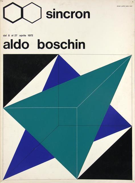 Aldo Boschin, 'Bozzetto Sincron', 1972, Itineris